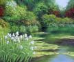 Water Garden in Spring 18x24